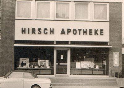 Altes Front der Hirsch Apotheke Twistringen